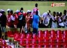 Estádio Rei Pelé foi lugar de violência entre claques