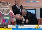 Tiziano Crudeli volta a festejar pelo Milan como ninguém
