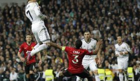 Ronaldo header vs Manchester United