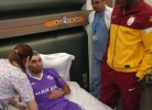 Drogba põe Barral no hospital