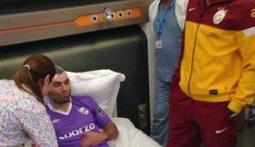 Drogba põe Barral no hospital