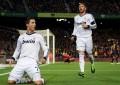 Barcelona no fundo, Ronaldo no topo