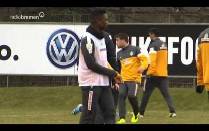 Confusão no treino do Werder Bremen