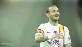 Sneijder eufórico com a visita de Mourinho à Turquia
