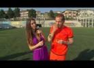 Sneijder e mulher em anúncio da Lipton