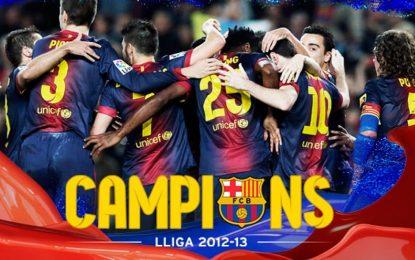 Barcelona campeão em Espanha