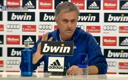Mourinho volta a confrontar imprensa espanhola