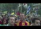 Rivais turcos juntos pela primeira vez