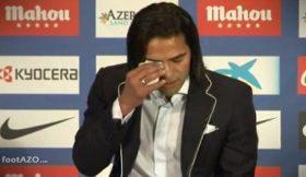 Falcao emociona-se no último dia em Madrid