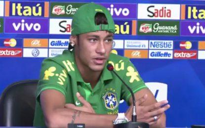 Neymar gostava de defrontar a Espanha na final da Taça das Confederações