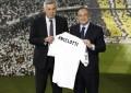 Ancelotti apresentado em Madrid