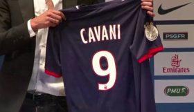 PSG já tem novo número 9: é Cavani!