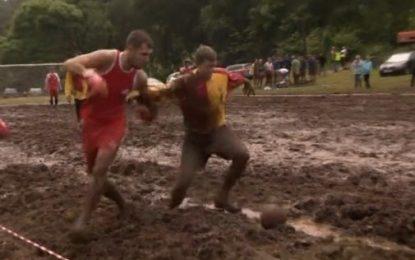 Mundial de Futebol…no lamaçal!