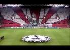 Adeptos do Olympiacos fazem a melhor coreografia da primeira jornada da Champions League