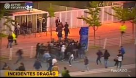 Incidentes no Dragão antes do Porto-Sporting