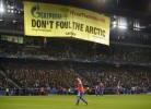 Jogo da Champions interrompido por ambientalistas na Suiça