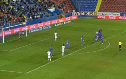 Granada vence no último minuto com fora de jogo válido