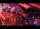 Autocarro do FC Porto chega ao Dragão debaixo de fogo