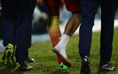 Neymar lesiona-se com alguma gravidade frente ao Getafe