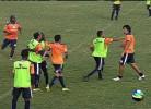 Treino de equipa brasileira termina em pancadaria