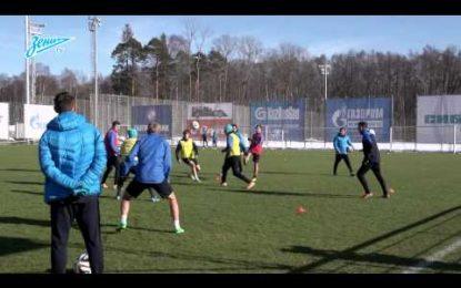 Villas-Boas dá espetáculo no primeiro treino com o Zenit