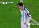 Messi vomita na Roménia