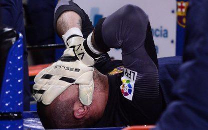 Lesão afasta Valdes do Mundial e dita adeus inesperado ao Barça