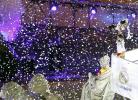 Madrid festeja em Cibeles, enquanto Barcelona criticado em Camp Nou