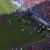 Bancada cede no estádio do Osasuna