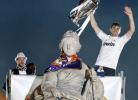 Real Madrid festeja em Cibeles título europeu