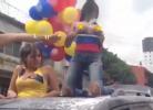 Colombiana dá show nos festejos do apuramento para os oitavos do Mundial