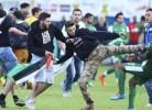 Jogadores do Maccabi Haifa agredidos por adeptos pró-Palestina