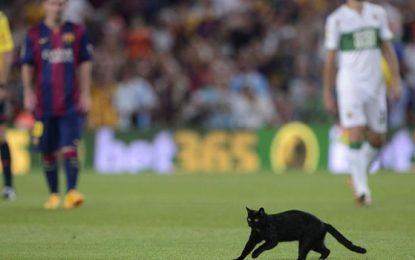 Gato preto não deu azar ao Barça no arranque da Liga Espanhola