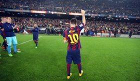 Messi bate recorde pichichi em La Liga