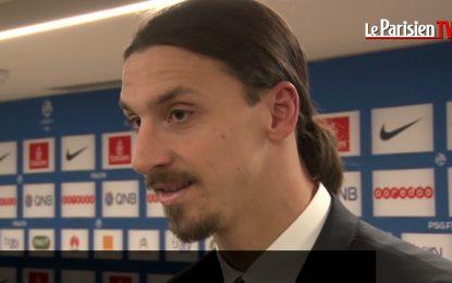 """Ibrahimovic dá """"tratamento de choque"""" a jornalista"""