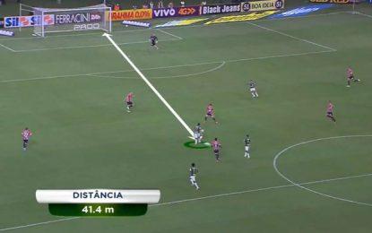 Robinho (Palmeiras) marca golaço ao São Paulo