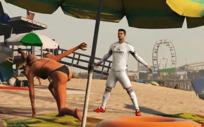 Ronaldo no GTA V: um vídeo que os fãs de CR7 vão adorar