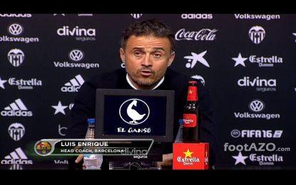 """A """"gaffe"""" de Luis Enrique: Chamou Nuno Gomes a Nuno Espírito Santo"""