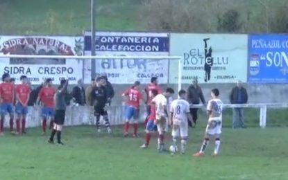 Aos 5-0 decidem não marcar livre direto dentro da grande-área adversária