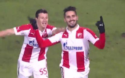 Hugo Vieira marca mais três na Sérvia