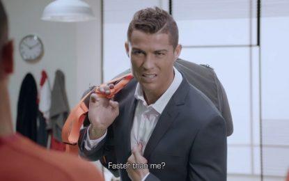 Cristiano Ronaldo: protagonista em anúncio israelita
