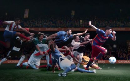 Messi protagoniza novo anúncio da Gatorade