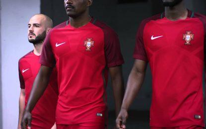 FPF apresenta equipamento de Portugal que será usado no EURO 2016
