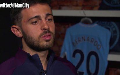 Bernardo Silva já está no Manchester City: a primeira entrevista