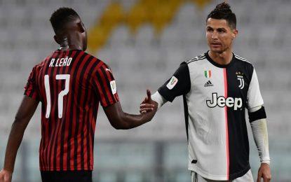 Ambos marcam, mas Rafael Leão leva a melhor sobre Ronaldo