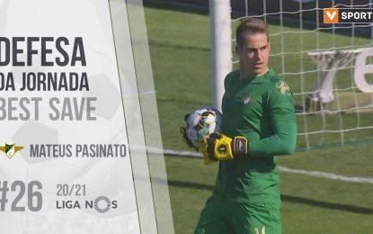 Defesa da Jornada (Liga 20/21 #26): Pasinato (Moreirense FC)