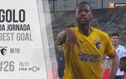 Golo da Jornada (Liga 20/21 #26): Beto (Portimonense SC)