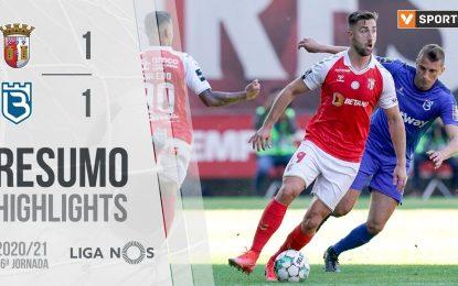 Highlights | Resumo: SC Braga 1-1 Belenenses SAD (Liga 20/21 #26)