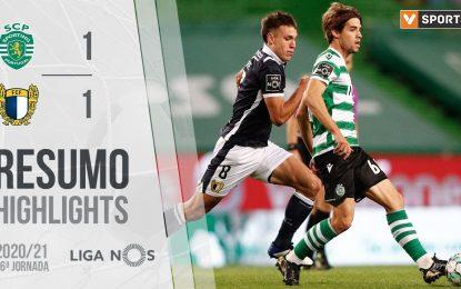 Highlights | Resumo: Sporting 1-1 Famalicão (Liga 20/21 #26)