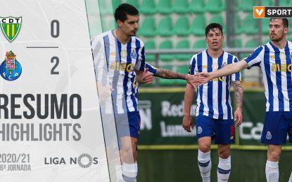 Highlights | Resumo: Tondela 0-2 FC Porto (Liga 20/21 #26)